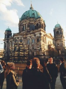 Berliner Dom am Abend des