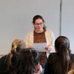 Liesebeth Mende is een schrijfster uit Rotterdam die genomineerd is met het boek 'Blauw' voor de Jonge Jury