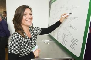 Namens het RML ondertekende Florence Weytingh de intentieverklaring