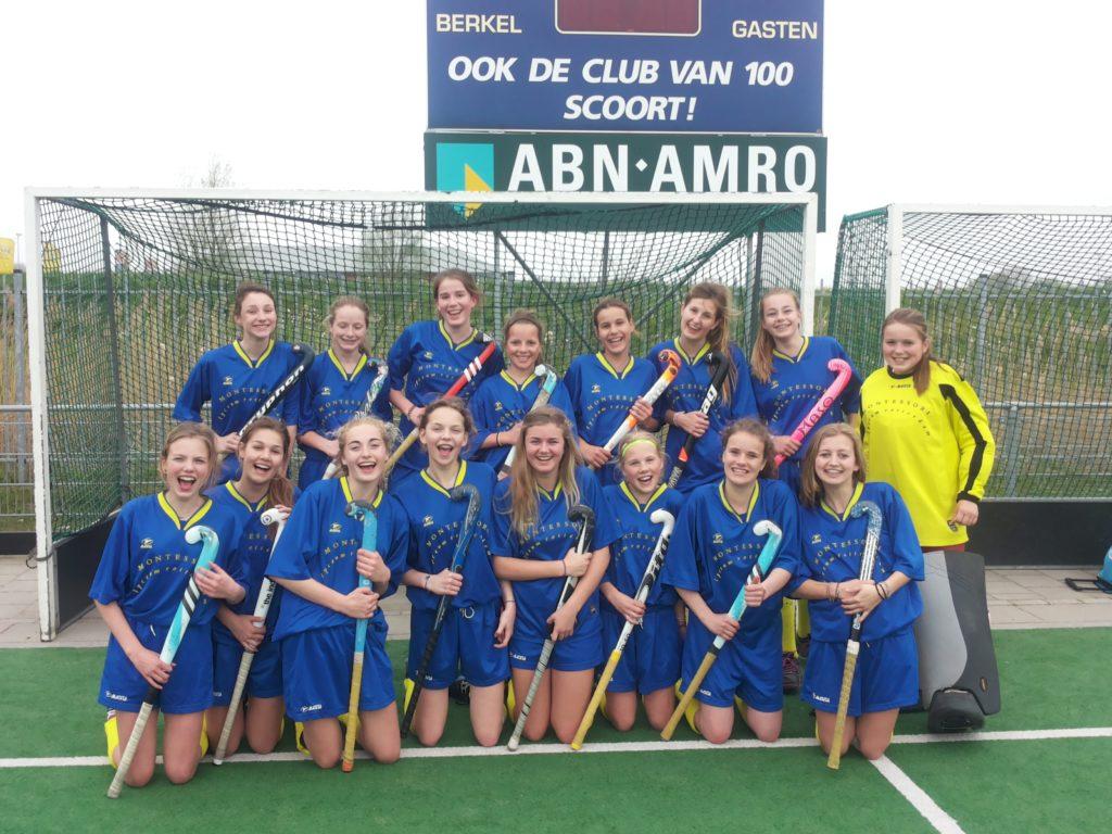 Shell hockey toernooi meisjes Jong