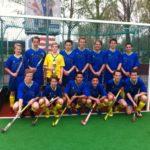 Het RML jongens hockey team